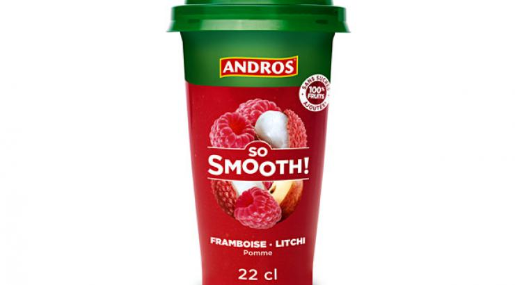 Avec So Smooth, Andros invente le smoothie en cup nomade