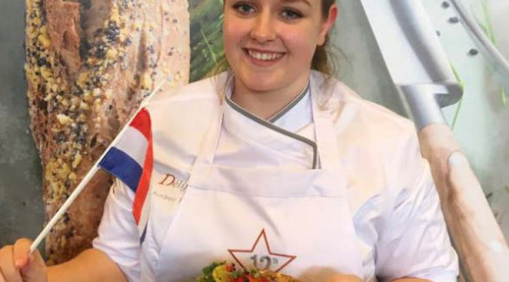 Audrey Biermans décroche la 12e Délifrance Sandwich World Cup