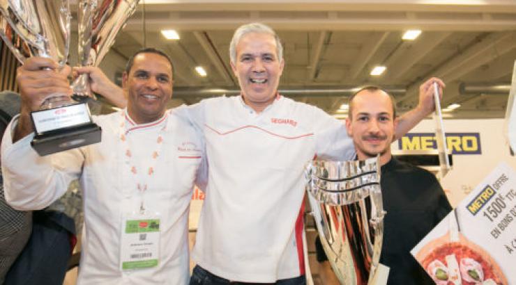 Farid Seghari, nouveau Champion de France de la Pizza