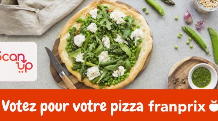 Franprix et ScanUp, alliés pour coconstruire la pizza de demain