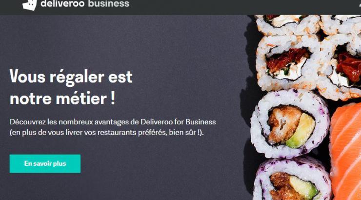 Deliveroo for Business se renforce auprès des entreprises en investissant l'hôtellerie et l'événementiel