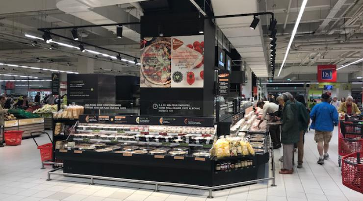 Hana Group installe un kiosque multimarques Della Mamma, Chouk et Nem & Co à Vélizy 2