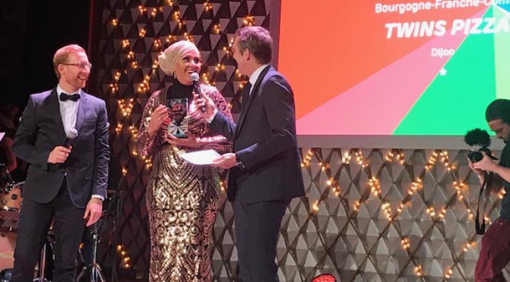 Twin's Pizza remporte le prix national des Awards de la livraison by Just Eat