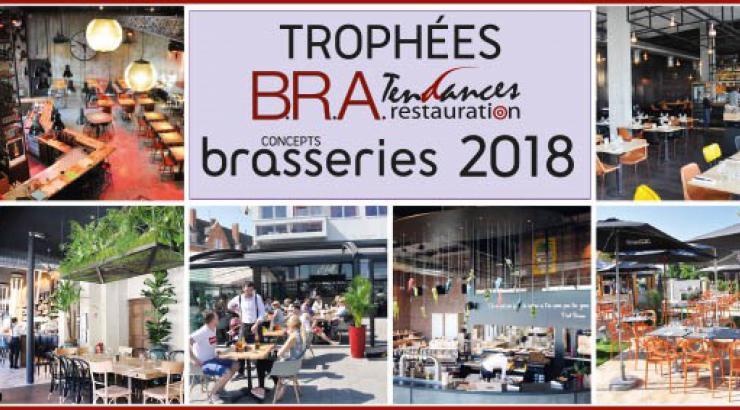 Les Trophées B.R.A Concepts Brasseries à l'honneur sur EquipHotel18
