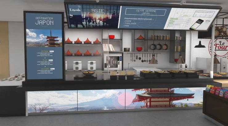 MaCantine, le nouveau concept modulaire de restauration d'entreprises d'Elior