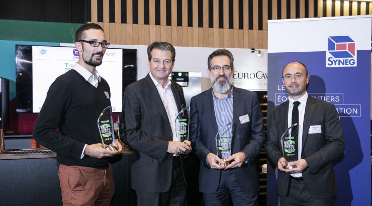 EquipHotel 2018, Arwytec, Santos, Socamel et Tournus, couronnées des trophées Valo Resto Pro®