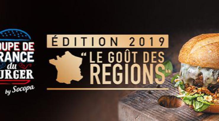 Coupe de France du Burger by Socopa 2019, place aux terroirs !