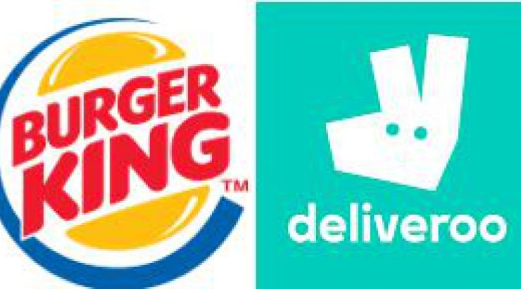 Burger King France roule avec Deliveroo