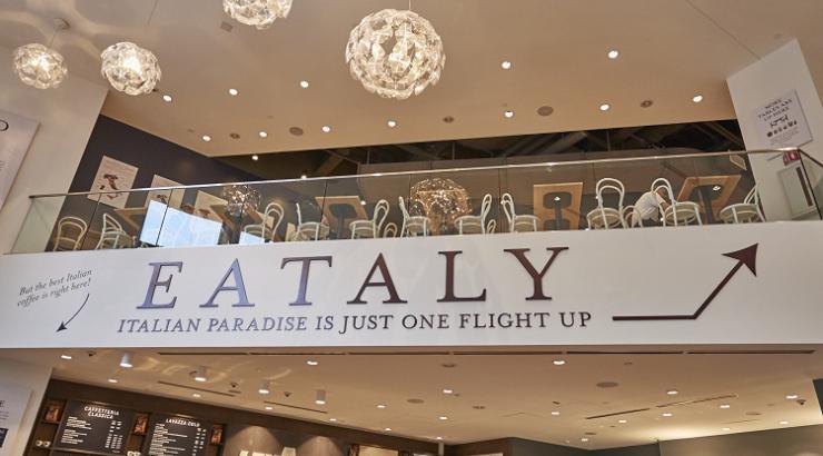Le temple de la gastronomie italienne Eataly bientôt à Paris