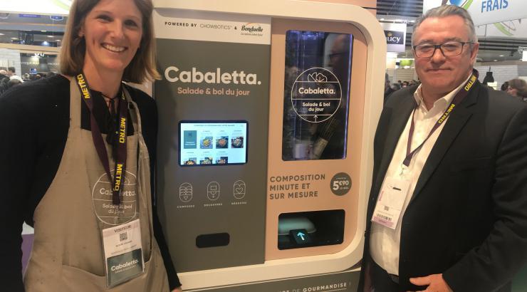 Bonduelle lance son robot Cabaletta pour des salades sur-mesure