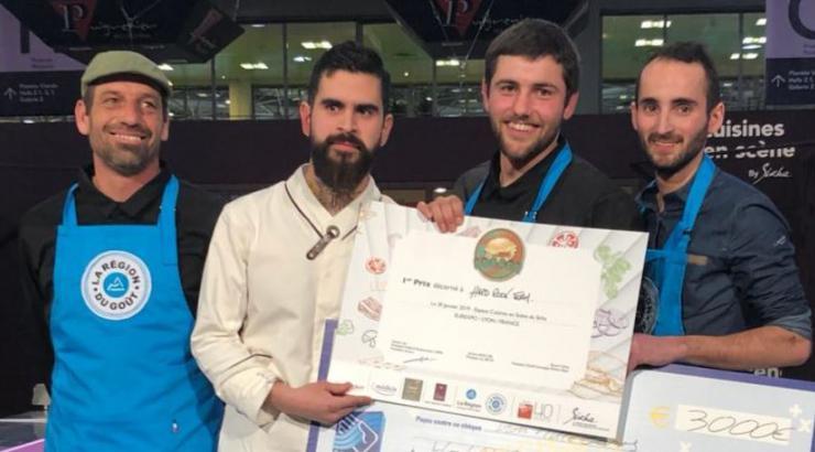 La Hard Rock café Team Lyonnaise, championne du World Burger Contest au Sirha