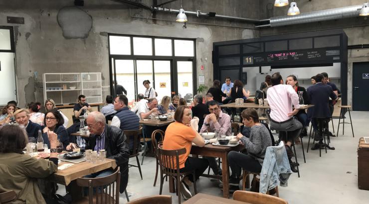 Les Français, fans de la pause déjeuner