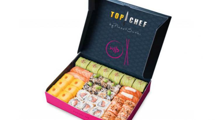Tendance japon avec Samuel Albert et sa box Top Chef by Planet Sushi