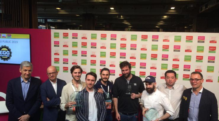 Père & Fish, Gemüse et Magnà, lauréats de la Sandwich & Snack Show Academy 2019