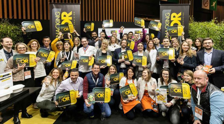 Les lauréats Snacking d'Or 2019 sur le devant de la scène