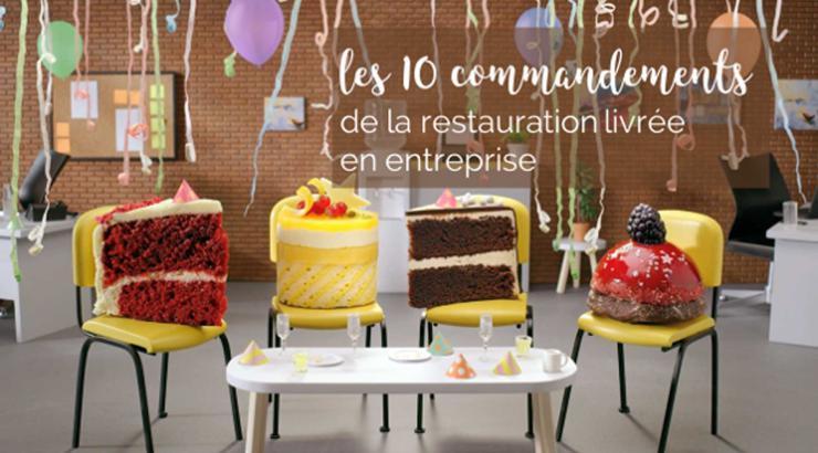 Les 10 commandements de la restauration livrée en entreprise marketing - Photo : Deliveroo for Business