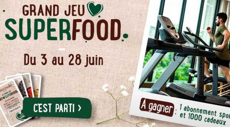 we love superfood par Class'Croute : le jeu interactif et engageant healthyfood