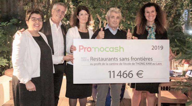 Restaurants sans Frontières soutien Promocash 2019