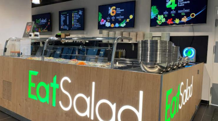 Eat Salad Antoine Barat projets de développement 2020 salad bar healthy food