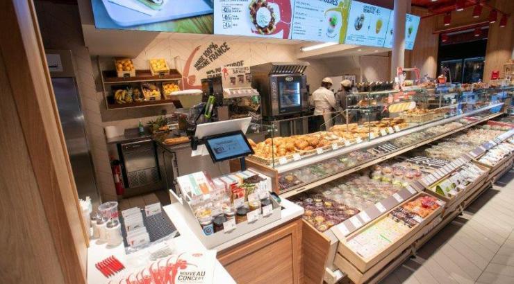 Brioche Dorée rue de la Verrerie Paris bakery concept boulangerie phygital