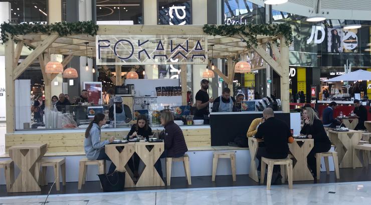 franchise pokawa poké bowl val d'europe