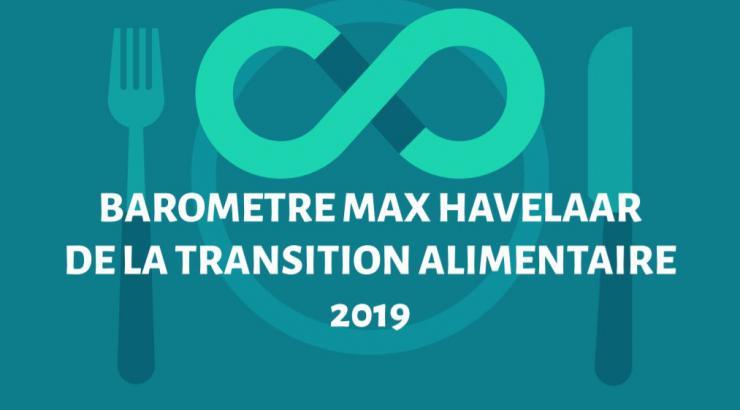 baromètre transition alimentaire responsable bio max havelaar opinion way