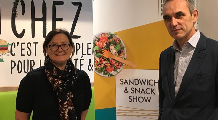Sandwich & Snack Show 2020 Béatrice Gravier Jean-François Quentin