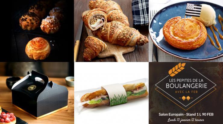 Les premières pepites de boulangerie par honore le mag remises au salon Europain 2020 le 13 janvier