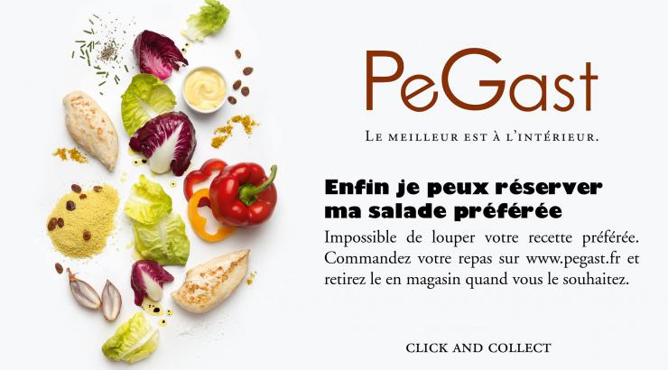 Livraison Click & Collect pegast : site de commande en ligne