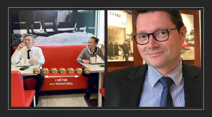 Steak'n Shake Hervé Poirier CEO - restaurant les halles paris - snacking.fr