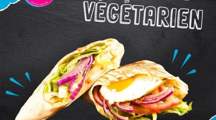 Le tacos végétarien le tacos de lyon
