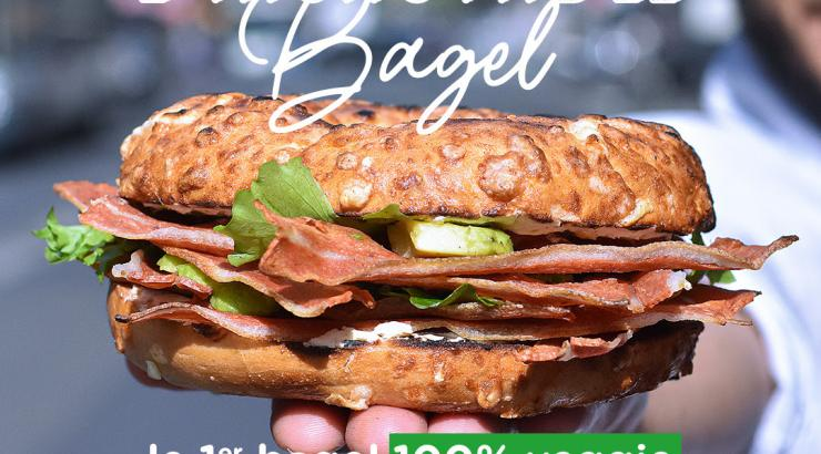 incroyable bagel corner michaël cohen bacon végétal grand gousier