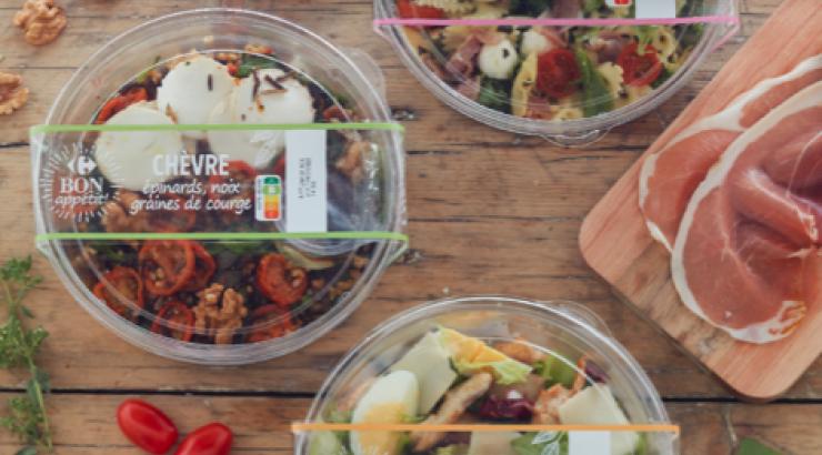Carrefour Bon appétit passe au nutriscore A et B pour son offre snacking