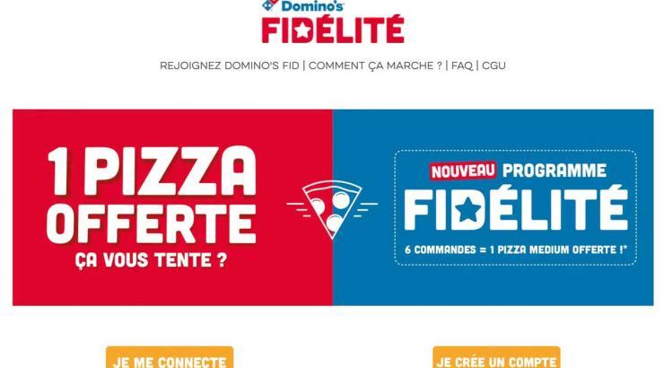 domino's pizza programme fidélité marketing digital en snacking
