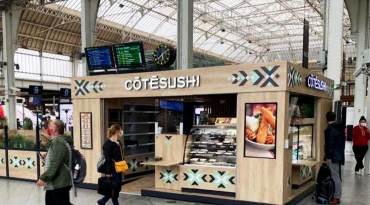 côté sushi gare ouverture nikkei