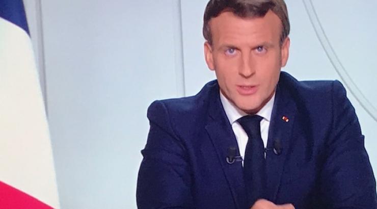 Emmanuel Macron Confinement