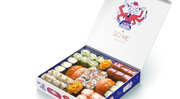 #SushiShopxSoMe box sushi shop