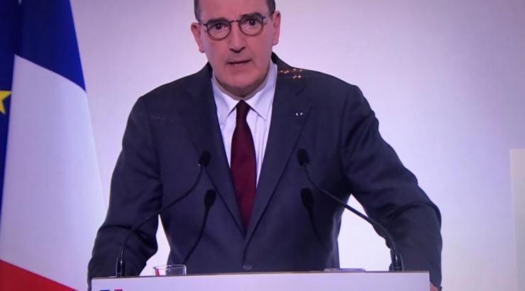 Jean Castex annonce le 18/03/2021 16 départements en confinement hybride et un couvre-feu reculé à 19 h