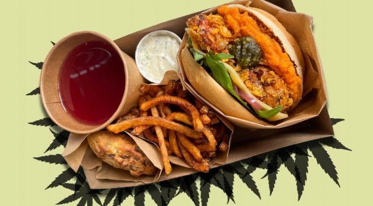 Bënnie organic fast food camille candela menu CBD
