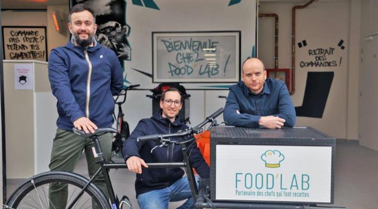 6 cuisines à Grenoble en octobre et 17 en décembre à Lyon-Vaise avec 50 marques pour Food'Lab darkkitchen