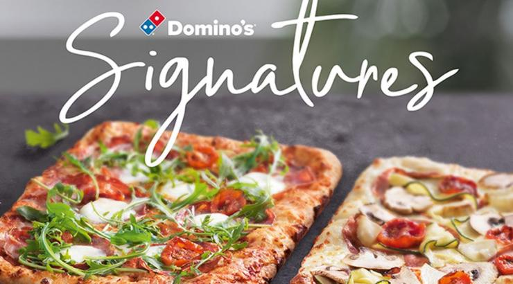 quoi de neuf dominos pizza signatures