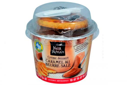 Snacking Crème Caramel au beurre salé