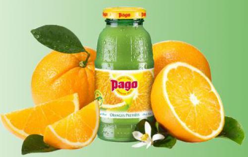 Pago oranges pressées