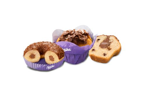 Muffin et Donut Milka® fourrés