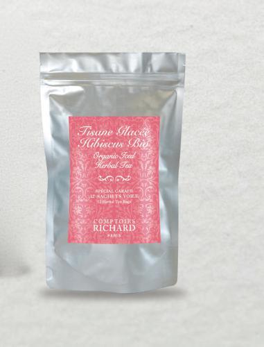 Tisane glacée hibiscus