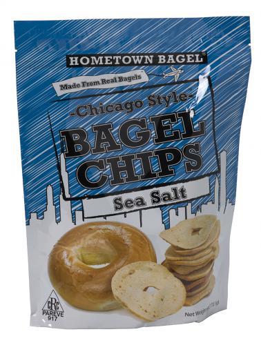 Chips de bagel