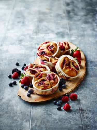 Rolls tentation fruits des bois et roll's tentation cannelle