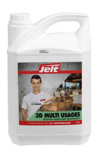 Détergent Jelt 3D Multi Usages