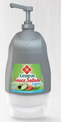 Sauce salade légère sans lactose