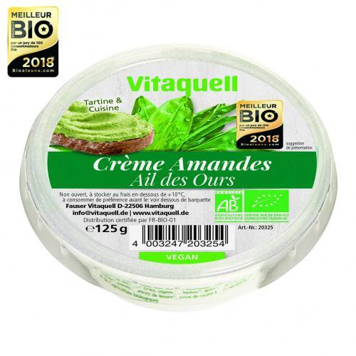 Crème d'amandes Vitaquell